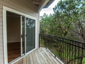 Homes include a balcony or patio |Madison Arboretum