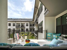 Private Balcony |District of Rosemary