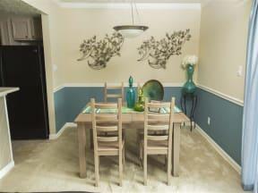 2 Bedroom Dining Room