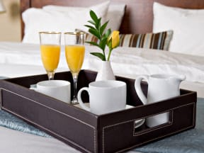 Breakfast Tray  l Vineyard Gate Apartments in Roseville CA