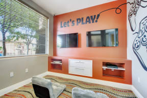 Clubhouse Gaming Area