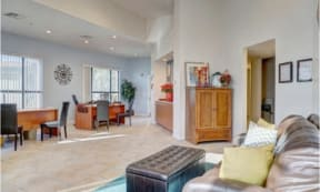 Resident Clubhouse at The Colony Apartments, Casa Grande, Arizona