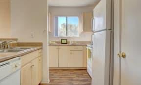 Open Concept Kitchen at The Colony Apartments, Casa Grande, Arizona