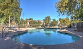 Resort-Style Pool at The Colony Apartments, AZ, 85122