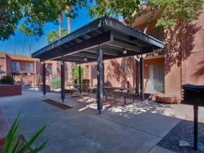 Pool Cabana & Outdoor Entertainment Barat Fountain Plaza Apartments, 2345 N. Craycroft, Tucson, AZ