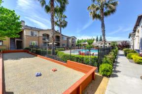 Bocce Ball l Eaton Village Apartments in Chico CA