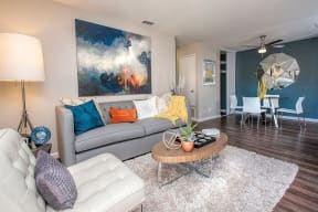 Living Room  Apartments in Pittsburg, CA l Kirker Creek Apartments