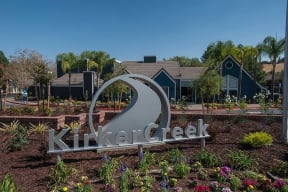 Entry Sign and Landscape Apartments in Pittsburg, CA l Kirker Creek Apartments