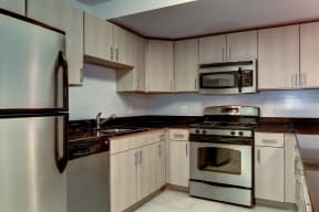 Fully Equipped Kitchen With Modern Appliances at Garfield Park, Arlington