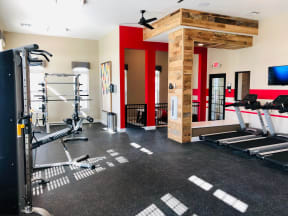 weight equipment and treadmills for apartments in round rock texas