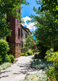 Property Exterior Walking Paths at Middle Creek Village LLC, Colorado