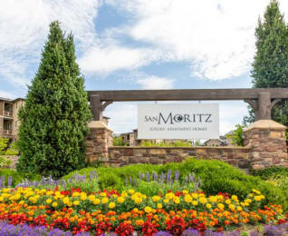 Welcoming Property Signage at San MoritzApartments, Midvale, 84047