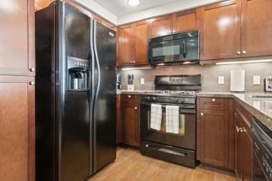 Kitchen Views at Ontario Town Square Townhomes