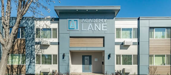 Front Entrance | Academy Lane Apartments