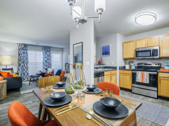 Well Equipped Kitchen And Dining at Jamison Park, South Carolina