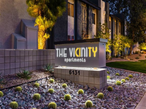 The Vicinity Sign