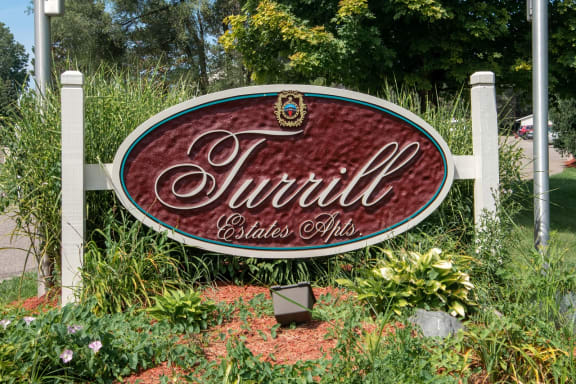 Sign At Turill Estates 1844 Raleigh Ave #18, Lapeer, MI 48446