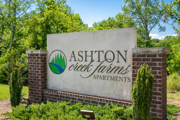 Ashton Creek Farms Monument Sign