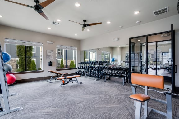 Large 24-7 Fitness Center
