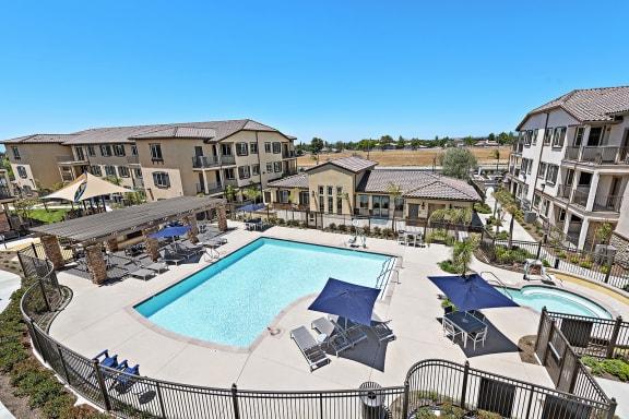Pool & Spa Area