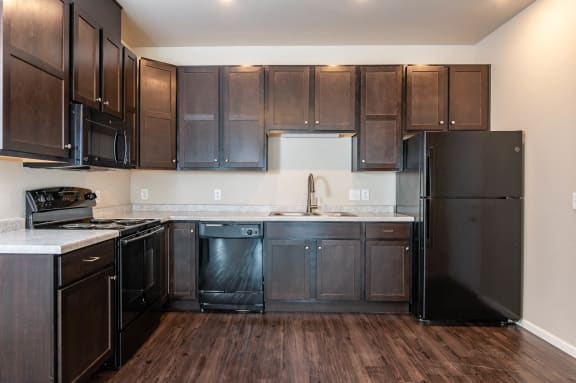 Port View Apartments | Modern Kitchen