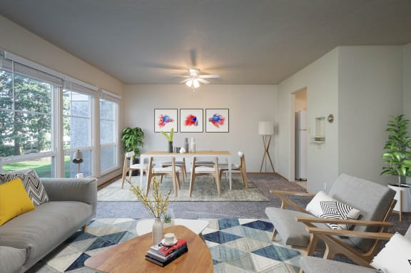 The Binford | Upper Level One Bedroom