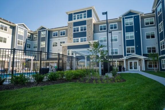 Property Exterior at The Barnum, White Bear Lake, MN 55110