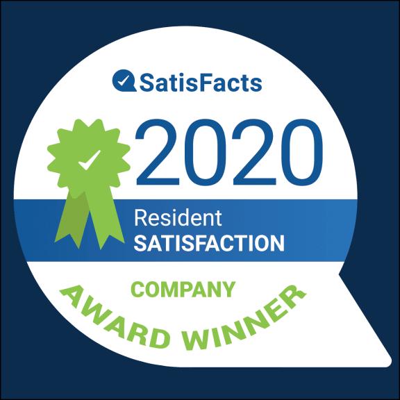 SatisFacts Company Award Winner at Westwood Village Apartments Westland Michigan