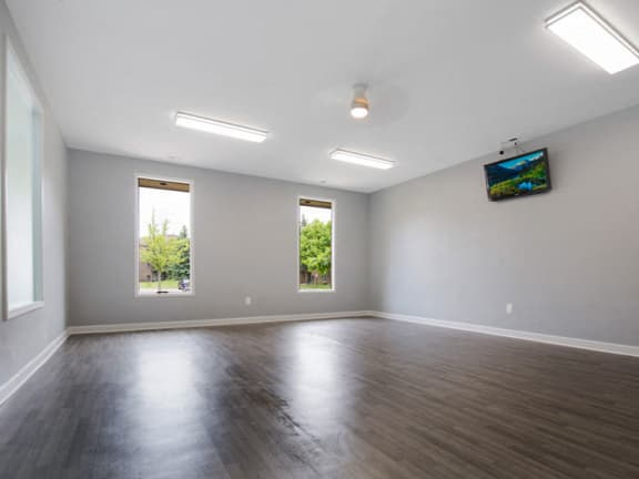 Yoga Studio at Lakeside Village Apartments Clinton Township 48038