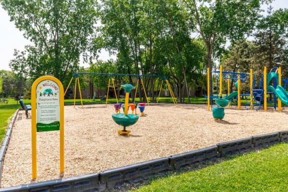 Playground at Lakeside Village Apartments, Clinton Township, Michigan