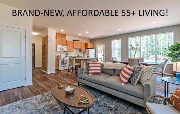 Covington Crossings_1 - Model Apartment Overview 55+ Living