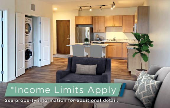 Dominium_Preserve at Shady Oak_Staged Living Room