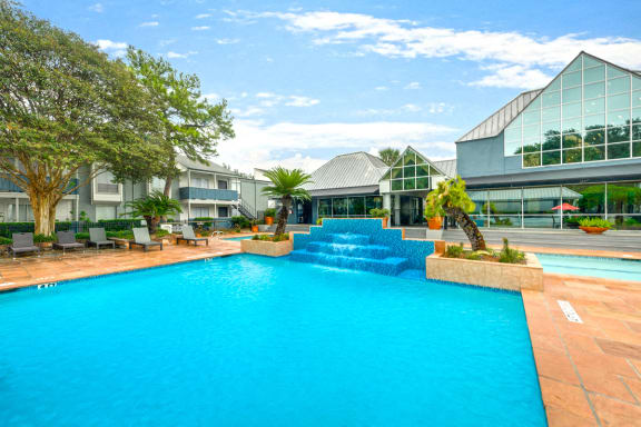 Turtle Pointe Apartments Swimming Pool and Sundeck
