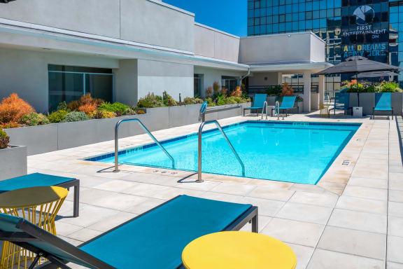 MetWest on Sunset Los Angeles, CA Rooftop Pool