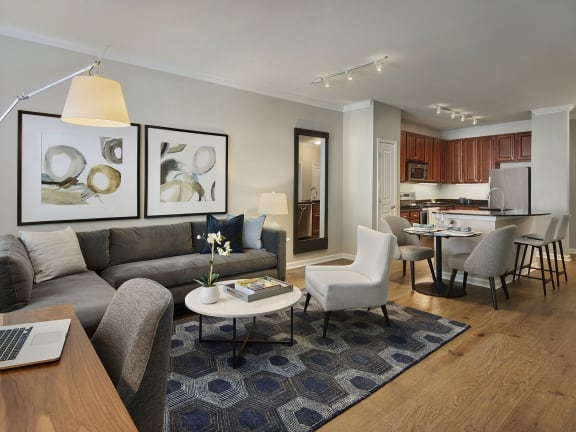 Spacious Living Room at AVE Clifton
