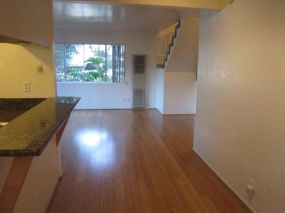 Rockefeller Lane unfurnished living area