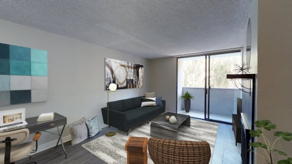 4250 Coldwater Canyon two bedroom model furnished