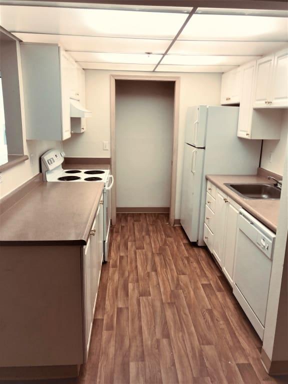 College Glen kitchen area