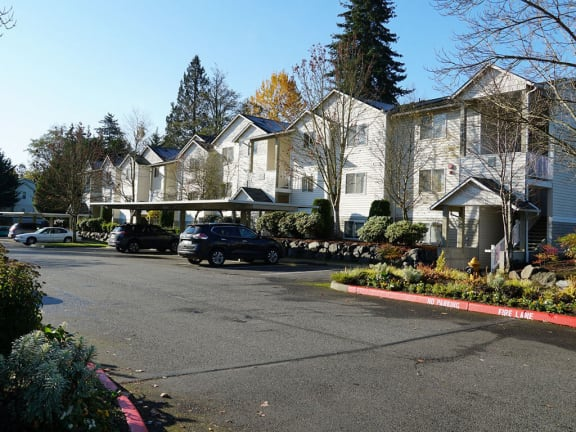 Carports Available at Sage Apartments in Everett, WA