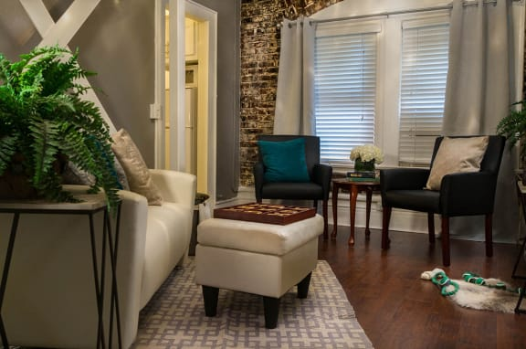 Brookmore Suite with Exposed Brick Wall