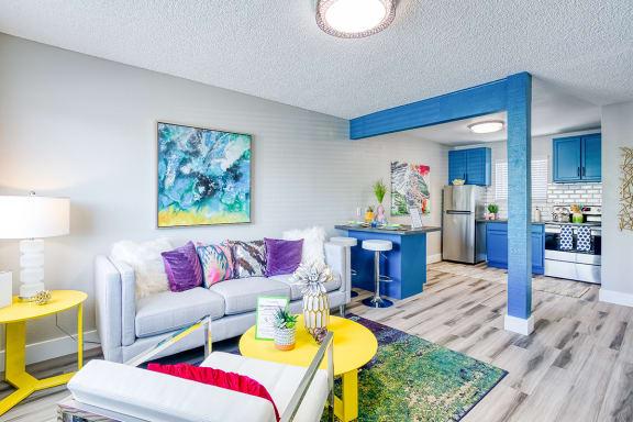 Fusion Apartments - Livingroom