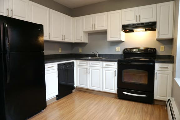 Kitchen at Cumberland Homes in Springfield, MA