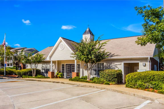 Clubhouse Landscape at Reserve at Park Place, Hattiesburg, Mississippi, 39402