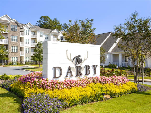 Property Signage at The Darby, Holly Springs