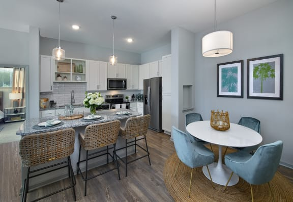 Kitchen and Dining Room at Summerhouse Lakewood Ranch Apartments, Florida