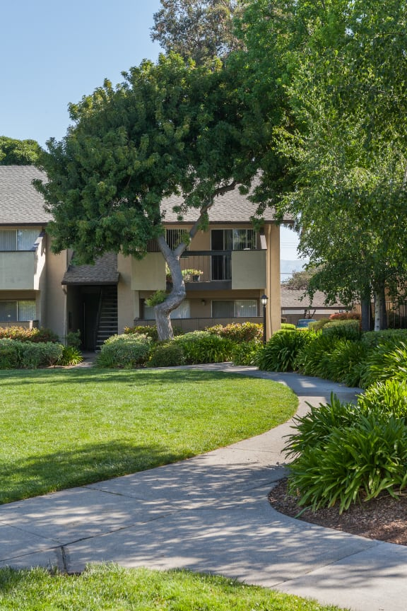 Green Space Walking Trails at Carrington Apartments, Fremont, CA, 94538