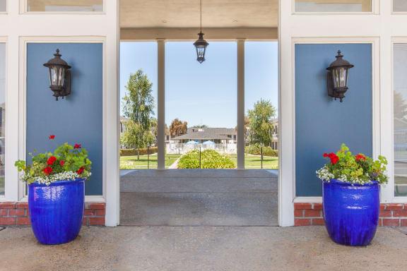 Main Entrance To Property at Vista Pointe, Santa Clara, California