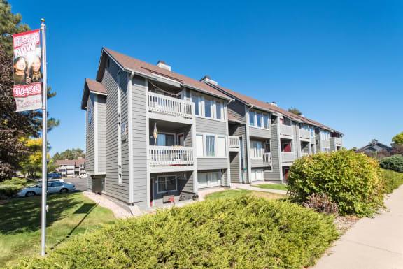 Landmark Apartments exterior building