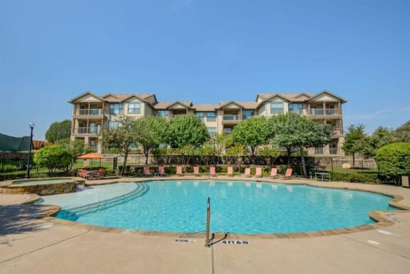 Glimmering Pool View at Huntington Ridge  Apartments,CLEAR Property Management, DeSoto, 75115
