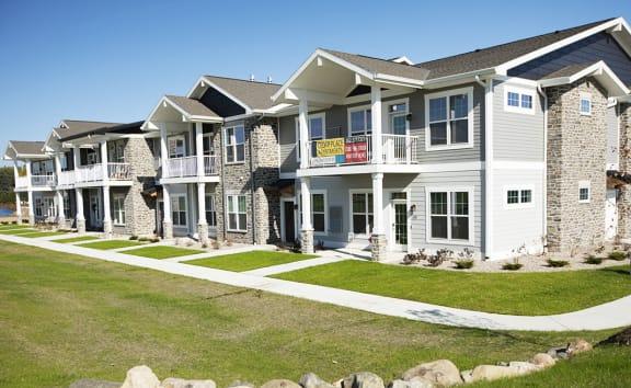 Elegant Exterior View at Cedar Place Apartments, Cedarburg, WI, 53012